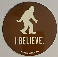 Great Divide Brewing Company Yeti Imperial Stout Sticker Brewery Beer Sasquatch