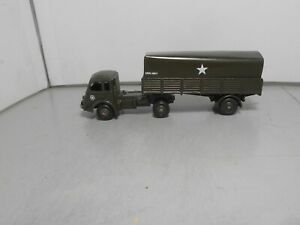 CIJ RENAULT and FRENCH DINKY MECCANO Trailor military France vintage classic143