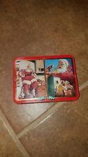 Coca-Cola Nostalgia playing cards 2 decks in collectible tin 1995 EXC