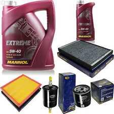 Paquete de Inspección 6L Mannol Extremo 5W-40 Aceite Motor + Sct Filtro Set