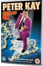 PETER KAY DVD STAND UP UK UKAY 2007 OOP RARE COMEDY LIVE NEW SEALED