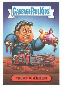 2019 Garbage Pail Kids Revenge of Oh The Horror-ible! #80H-5a Thumb Warren