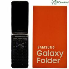 BNIB SAMSUNG GALAXY FOLDER SM-G150 DARK BLUE 8GB FACTORY UNLOCKED 4G/LTE SIMFREE