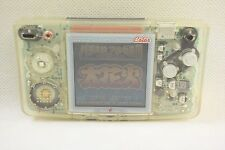 NEOGEO POCKET COLOR Crystal Console System Neo Geo SNK Game Tested 01033 JP *