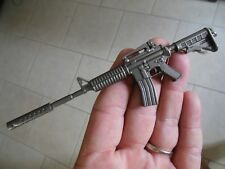 AR 15 - Rifle**Keychain** (( WITH  SILENCER ))***Free  Shipping**