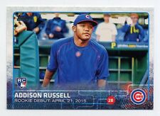 2015 Topps Update ADDISON RUSSELL Rookie Card RC 208 Chicago Cubs PROSPECT US208