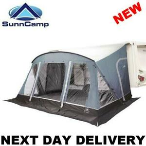 New 2021 Sunncamp Swift 390 SC Caravan Porch Awning With Rear Upright Pads