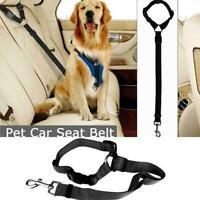 Pet Dog Travel Seat Belt Clip Lead Car Safety Restraint Nice Harness Adjust F1P0