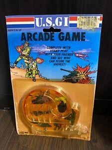 U.S. GI Pinball Game Retro Portable Travel Toy 1980s Arcade Larami Corp USGI US