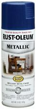 Cobalt Blue Metallic Spray Paint Rust Oleum 11 Ounce Indoor Outdoor Paint Can Ne