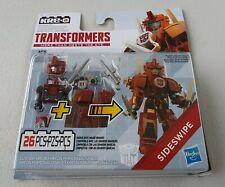 Kre-O Transformers Sideswipe Custom Kreon New Hasbro 26pcs Armor Up