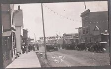 VINTAGE 1904-18 RPPC NORTH BATTLEFORD SASKATCHEWAN CANADA KING ST PHOTO POSTCARD