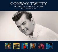 CONWAY TWITTY - SIX CLASSIC ALBUMS+..  4 CD NEU