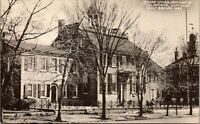 New Castle Delaware Court House East Wing 1940s Postcard