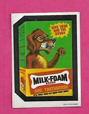 RARE OPC 1973 WACKY PACKAGES MILK FOAM  EX  CARD (INV# J0419)