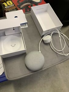 Google Home Mini Model H0A with Power Adapter