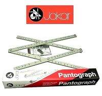 """Jakar Artists Wooden Pantograph Enlarges Reduces Re-scales Images Drawings 18"""""""