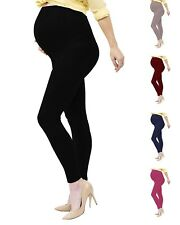 Womens Maternity Leggings Over The Belly Soft Stretch Pregnancy Yoga Pants