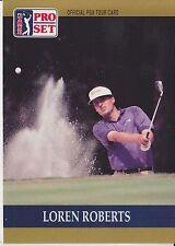 Loren Roberts #33 1990 Pro Set PGA Tour Golf Special Inaugural