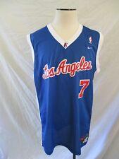 LAMAR ODOM LA Clippers Nike Team blue white jersey tank top 2XL +2