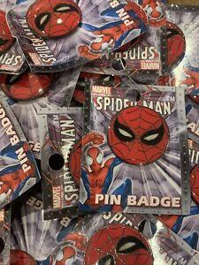 Marvel Comics 1 Spiderman Mask Pin Badge