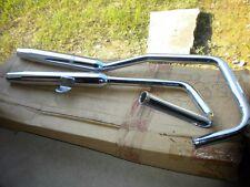 NOS Jardine Taper Tip Chrome Exhaust Muffler 85-87 96-09 Honda Rebel 250 CMX250