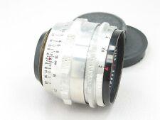 Carl Zeiss Jena Biotar 58mm f/2 Lens M42 Preset Red T 12 blades 140