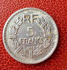 France -  Rare  monnaie de 5 Francs 1952