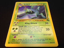 Pokemon Fossil Set Unlimited Edition UnCommon Card - Golbat 34/62 Mint