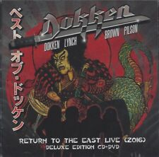 Return to the East Live by DOKKEN (CD+DVD/SEALED - Frontiers Records 2018) NEW !