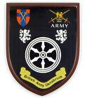 BRITISH ARMY BAOR OSNABRUCK GARRISON HAND MADE WALL PLAQUE