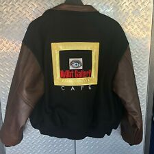 RARE Mens NIGHT GALLERY CAFE TV SHOW Jacket / Varsity Coat XL by EERIE Clothing