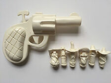 Who Framed Roger Rabbit Unpainted Pistol and Dum-Dums/Bullets Prop/Replica