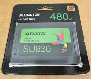 ADATA SU630 480GB 3D-NAND SATA 2.5in Internal SSD