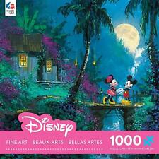 CEACO DISNEY FINE ART PUZZLE MOONLIGHT PROPOSAL JAMES COLEMAN 1000 PCS #3377-3
