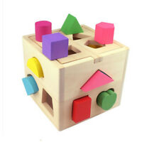 Baby educational toys wooden building block toddlers toys for learning toy toA8A