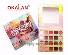 OKALAN Amazon Clay Eye shadow Palette- 20 Natural Eye Shadow Colors - Authentic!