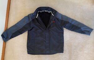 Slazenger Men's Black Fleece Lined Jacket with Hood Size M