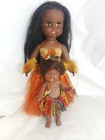 Hula Dancer Dolls Set Of 2 Dolls