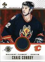 2001-02 Private Stock Game Gear #14 Craig Conroy Jersey - NM-MT