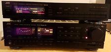 JVC AX-90VBK DigiFine Super-A Audio/Video Verstärker, mit FX-50LBK FM/AM Tuner
