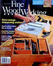 Fine Woodworking Magazine Jun 2016 Sharpening Station Garden Bench Super Glue