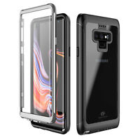 For Samsung Galaxy Note 9 Case Built-in with Curved Screen Protector Shockproof