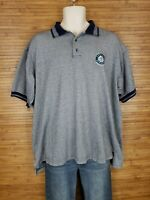 Vintage MLB Seattle Mariners Dynasty Polo Shirt Mens size XL