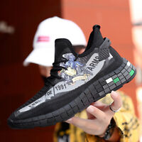 Men's High Quality Casual Fashion Shoes Sports Sneakers Running Breathable 3D