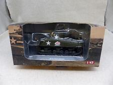 Ixo Altaya 1/43 Char M4A3 Sherman Decembre. 1944 Neuf/Boite (2)