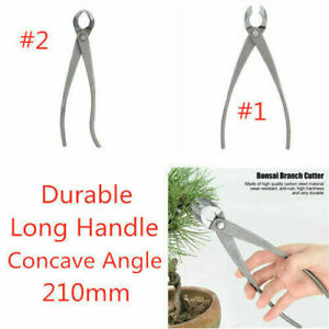Bonsai Round Edge Branch Cutter Bonsai Tools Carbon Steel Concave Pruning Shear