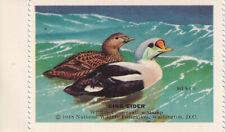 1948 National Wildlife Federation-Conservation Stamp King Eider
