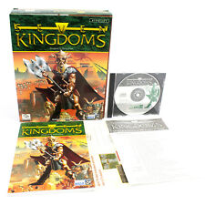 Seven Kingdoms for PC CD-ROM in Big Box by Enlight Software, 1997, CIB, VGC
