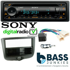 Sony DAB CD MP3 USB AUX Bluetooth Car Stereo Fitting Kit For Toyota Yaris 99-03